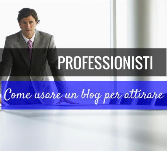 professionisti blogging