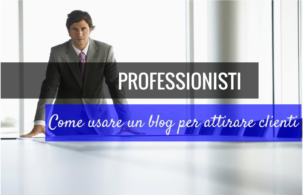 professionisti blogging