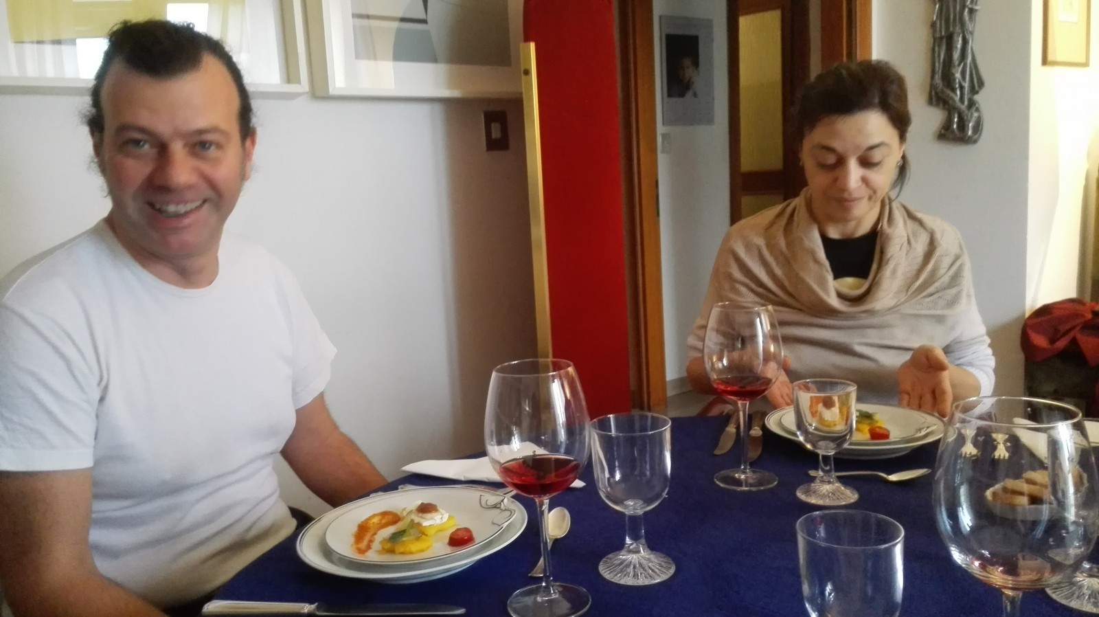social eating in Italy