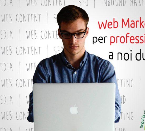 promozione attività professioniale sul web